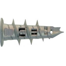 Cheville autoperceuse métallique 32 mm avec vis tête cylindrique PZ2 MUNGO