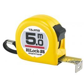 Mètre ruban HI LOCK 25mm 10m