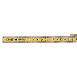 Mètre pliant fibre de verre 2 m