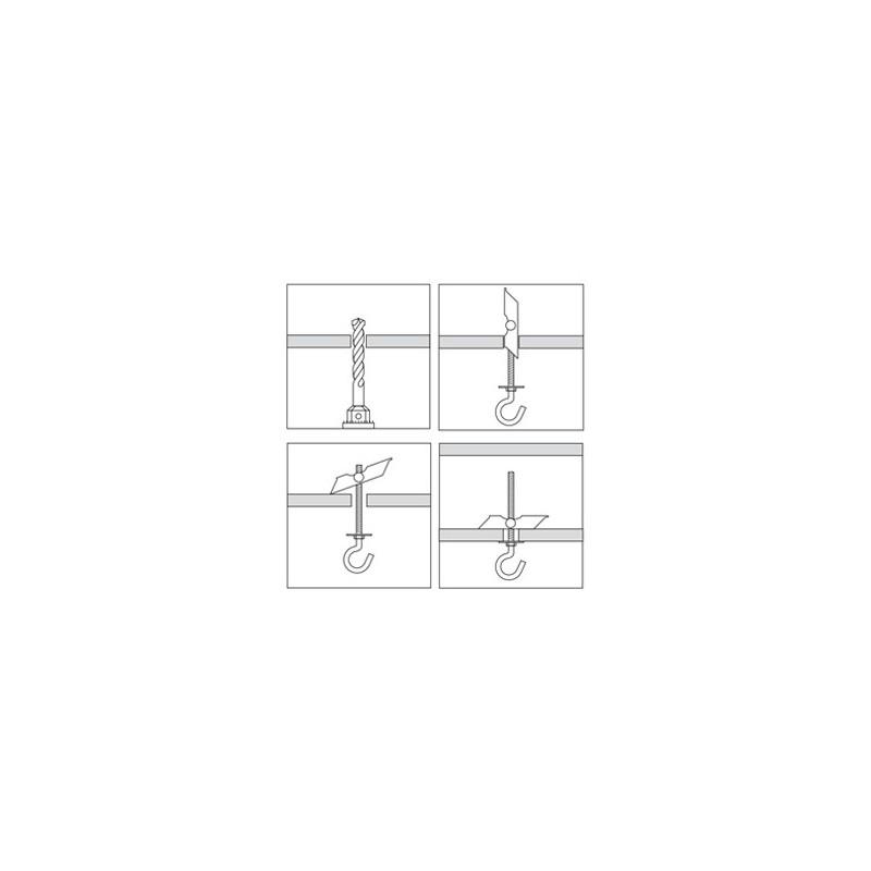 cheville bascule seule m8. Black Bedroom Furniture Sets. Home Design Ideas