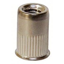 Insert fileté acier tête fraisée réduite FAR  M4x10mm