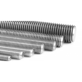 Tige filetée inox A2 -  6mm x1m (boîte de 10)