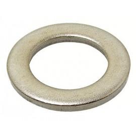 Rondelle acier zingué étroite, diam. 5mm