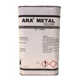 Poudre pour mélange de réparation métal (à utiliser avec résine) 620gr