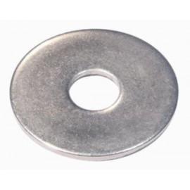 Rondelle acier zingué extra large 4mm