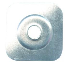 Plaquette tôle galvanisée
