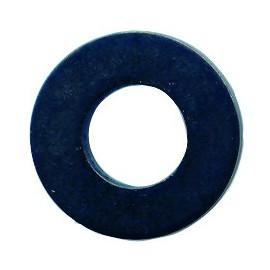 Rondelle acier zingué moyenne noire 7mm
