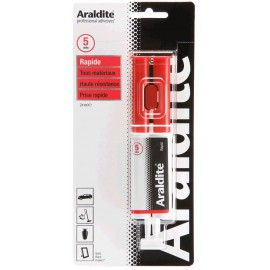 Colle ARALDITE Rapide seringue doseuse 24ml